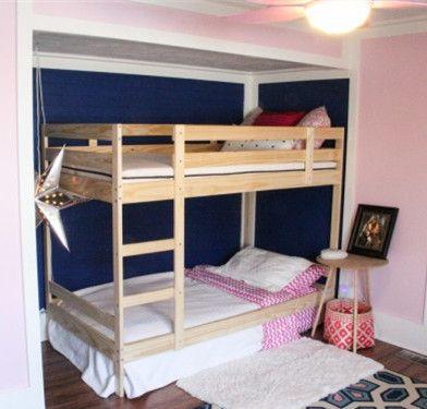 MYDAL Bunk Bed Frame Pine