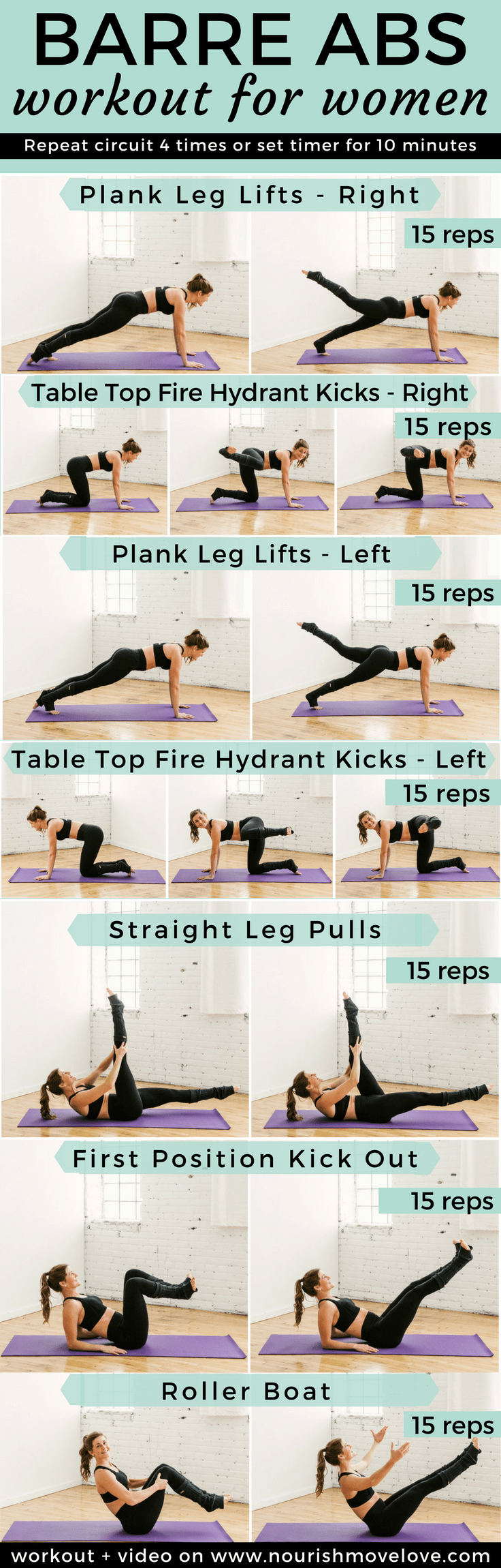 Upper abs workout for ladies