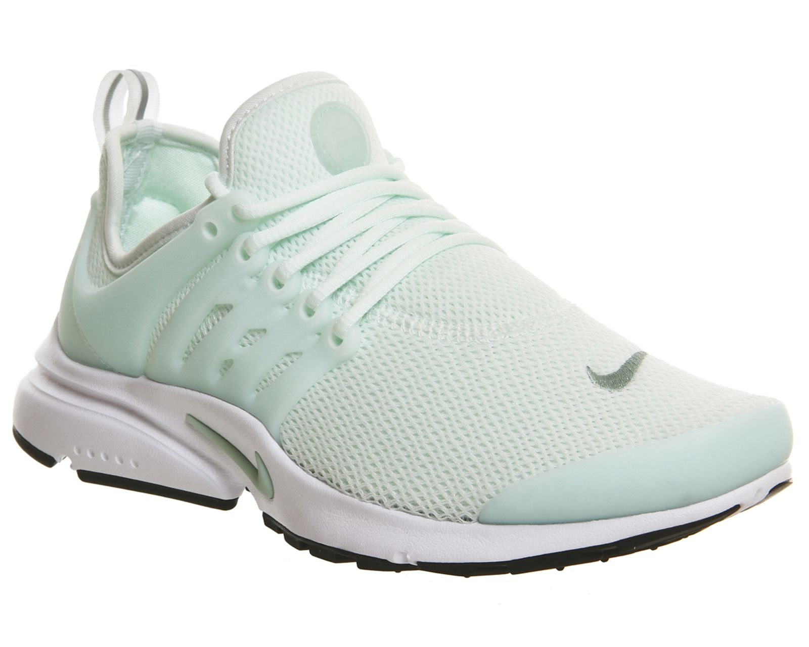 Nike Air Presto Womens Barely Green Enamel Green Black White
