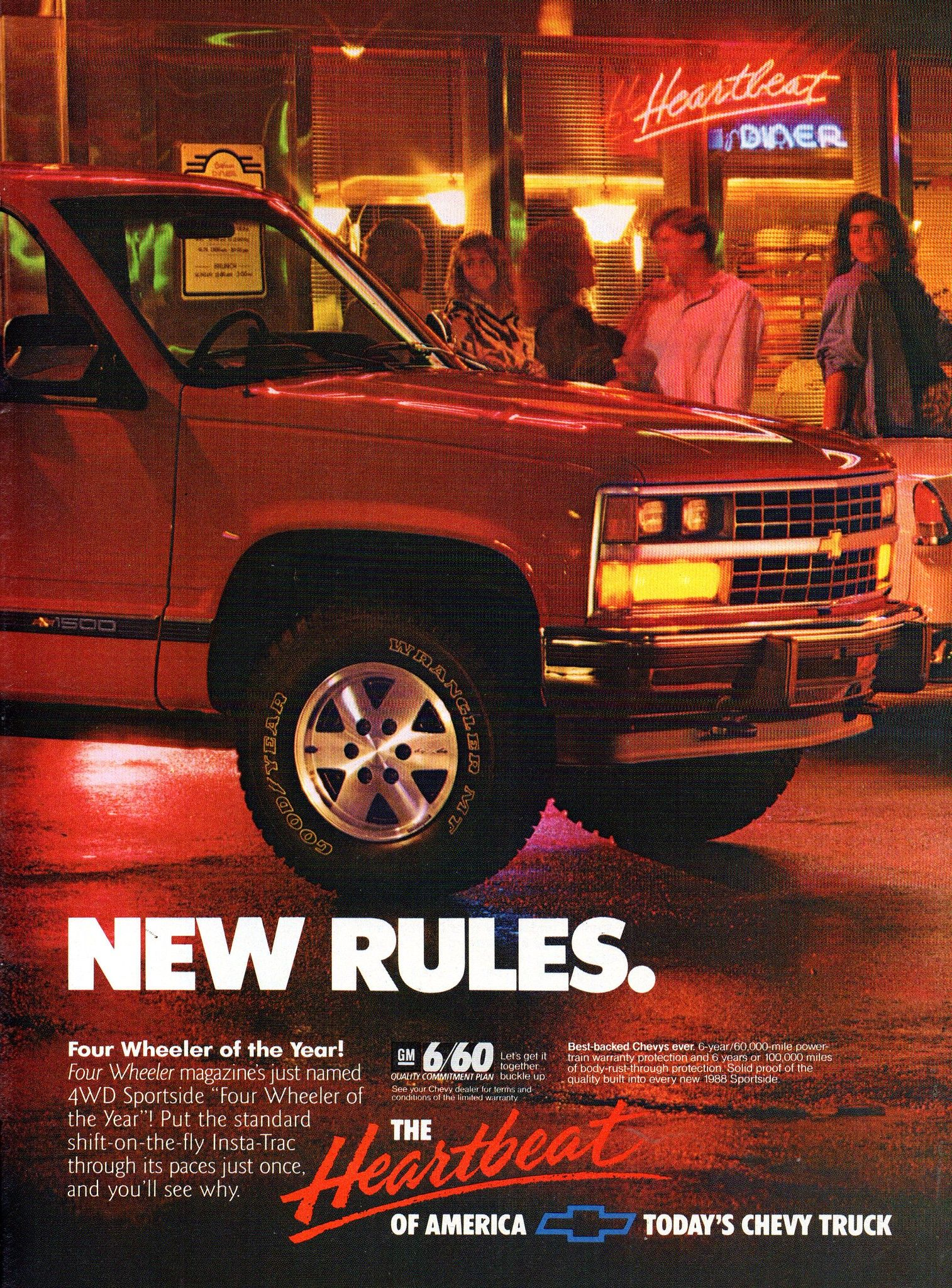 1988 Chevrolet Chevy Sportside 4wd Pickup Page 2 Usa Original