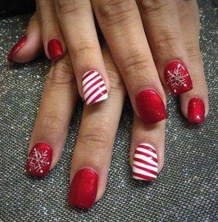 nails winter colors gorgeous hair 27 ideas  christmas
