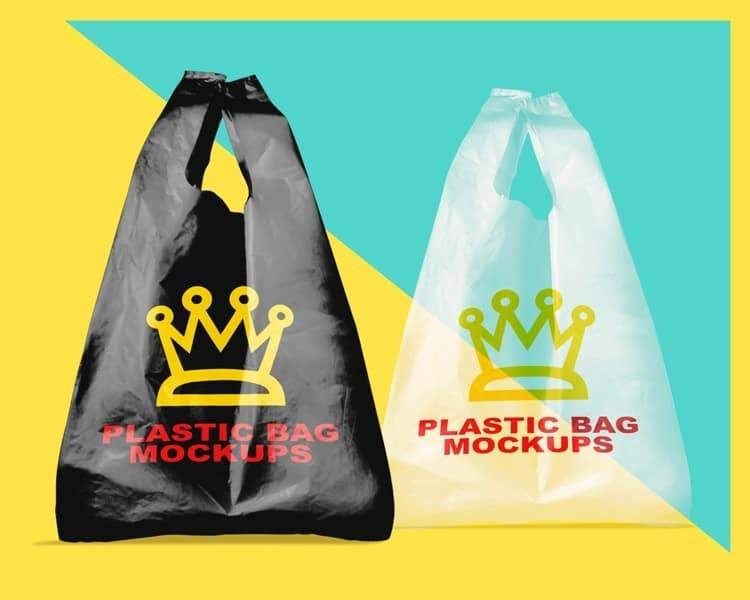 Download Today We Re Glad To Feature This Psd Mockup Of Set Of Plastic Bags Go Give Some Love To Vectogravic For Creating This Top Notch Ph Bag Mockup Plastic Bag Bags