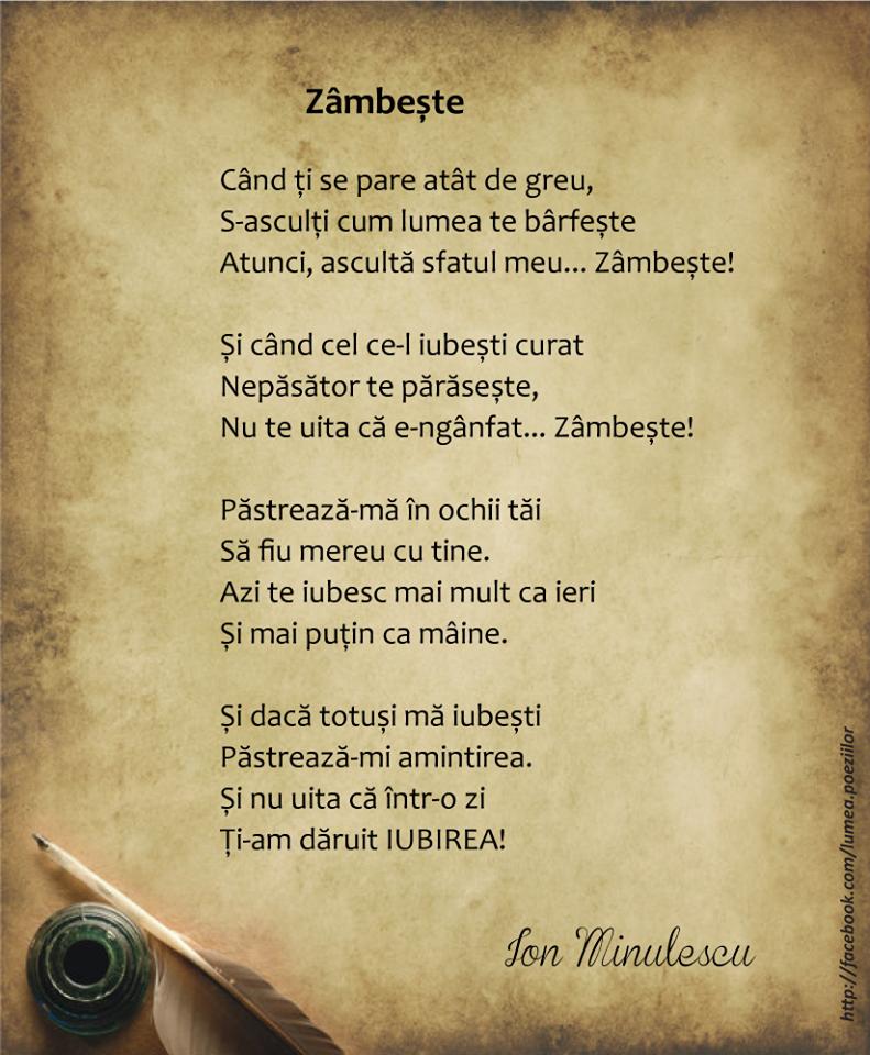 Zambeste - Ion Minulescu