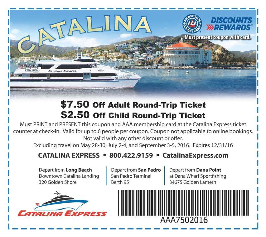Catalina Express Offers Year Round Service And Up To 30 Departures Daily From Different Ports In San Pedro Long Beach And Dana Discount Travel Trip Catalina