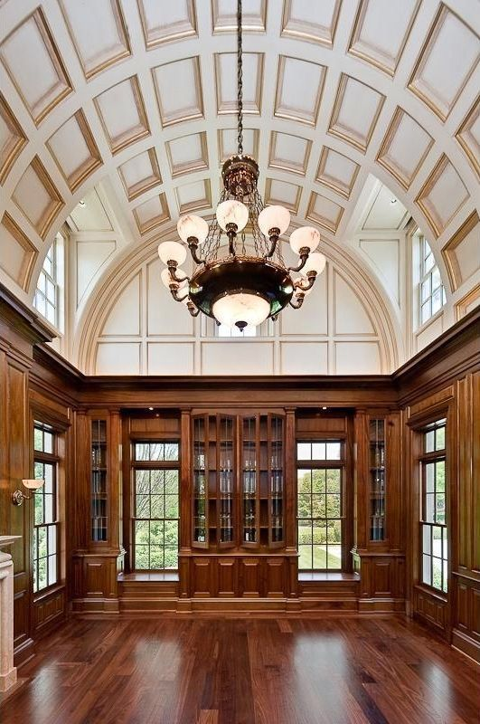 Library Of 1 Frick Drive Stone Mansion Expensive Houses Mansions
