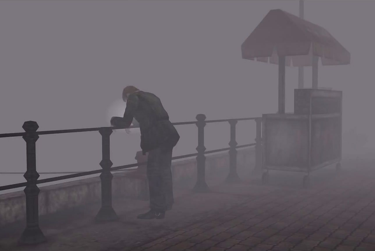 James Sunderland At Rosewater Park Silent Hill 2 Silent Hill