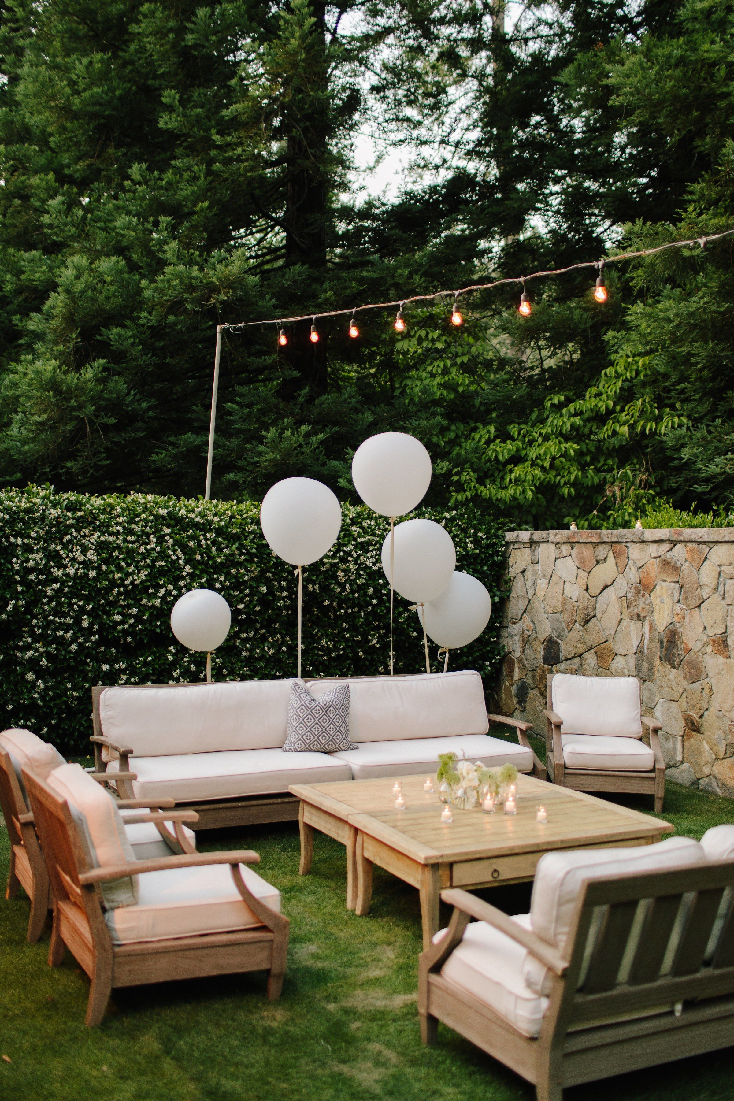A Sophisticated Garden Party Wedding in Napa - A Sophisticated