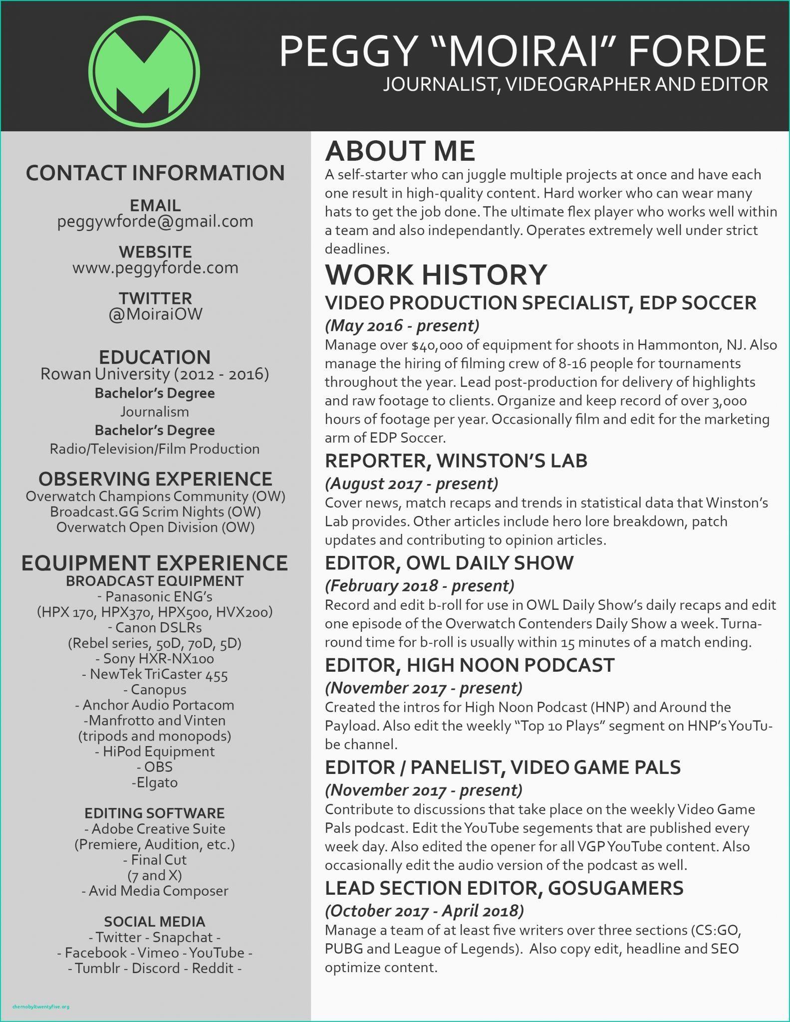 Graduate school resume template video editing contract
