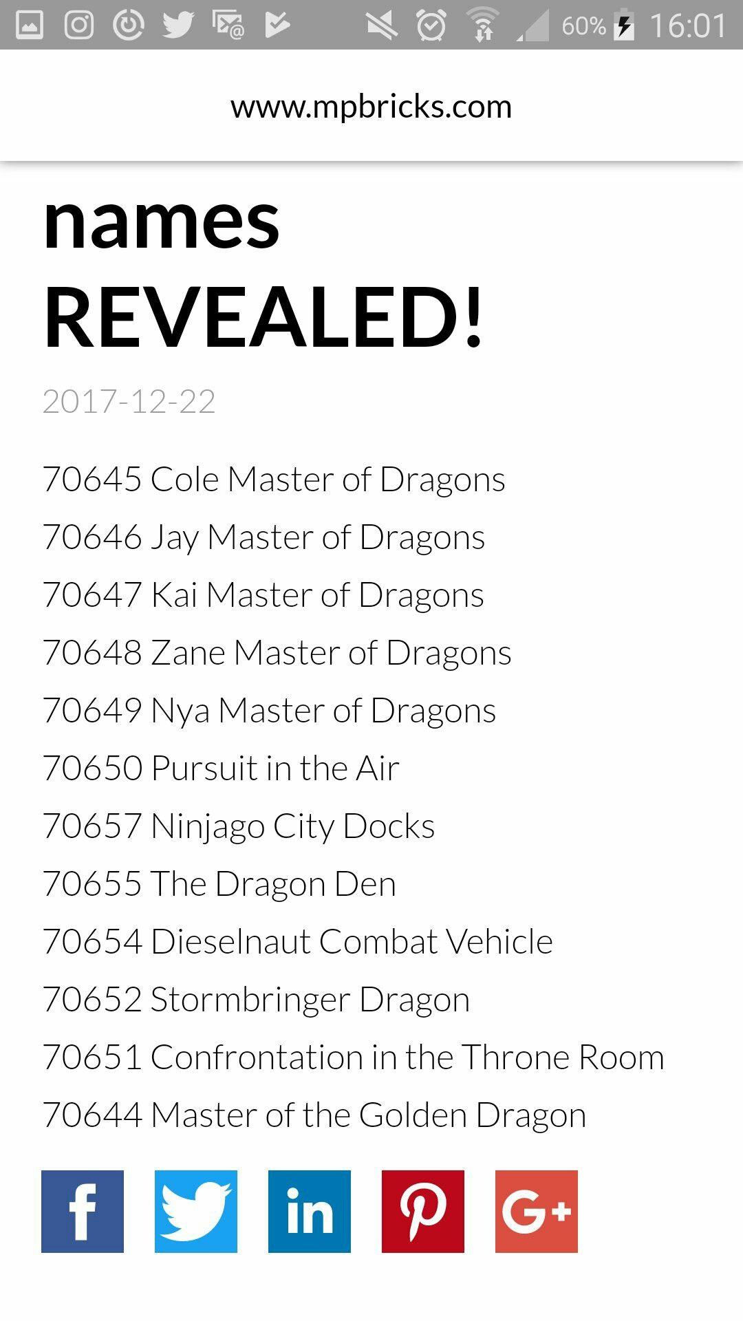 Season 9 Set Names Real Or Fake Ninjago Ninja Go Lego