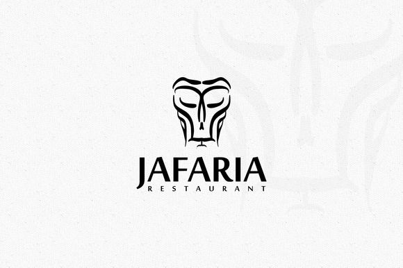 Jafaria Logo by EmilGuseinov on Creative Market Logo Templates - modern logo fonts