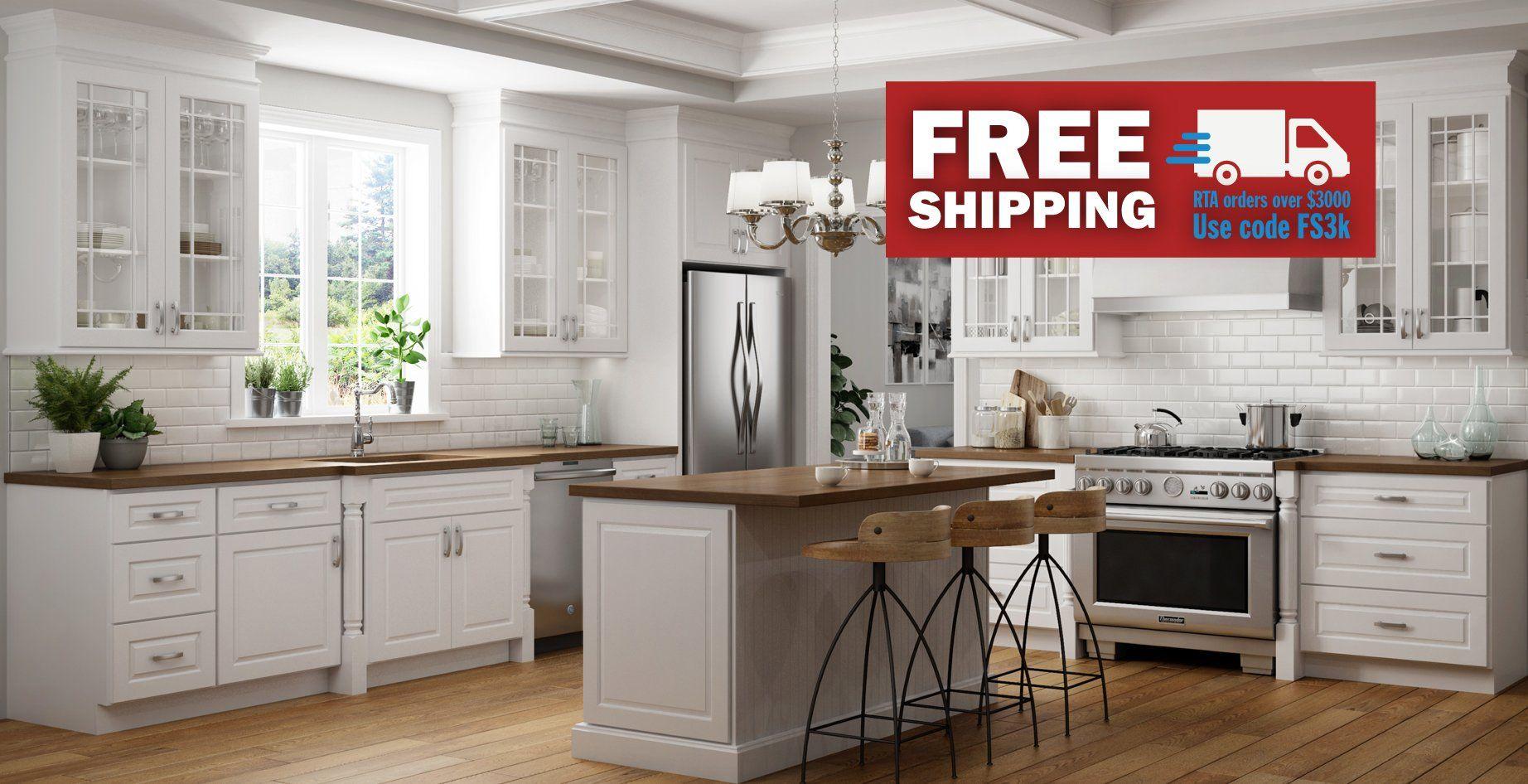 RTA Wood Cabinets | Ready To Assemble Kitchen Cabinets ...