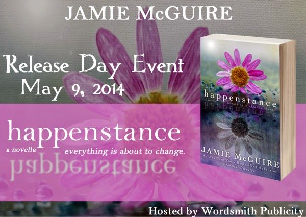 Enter to win an ecopy of Happenstance by Jamie McGuire