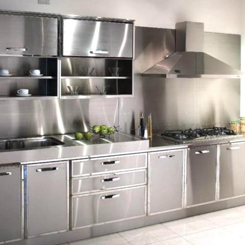 Steel Kitchen Cabinets, Stainless Steel Kitchen Cabinet