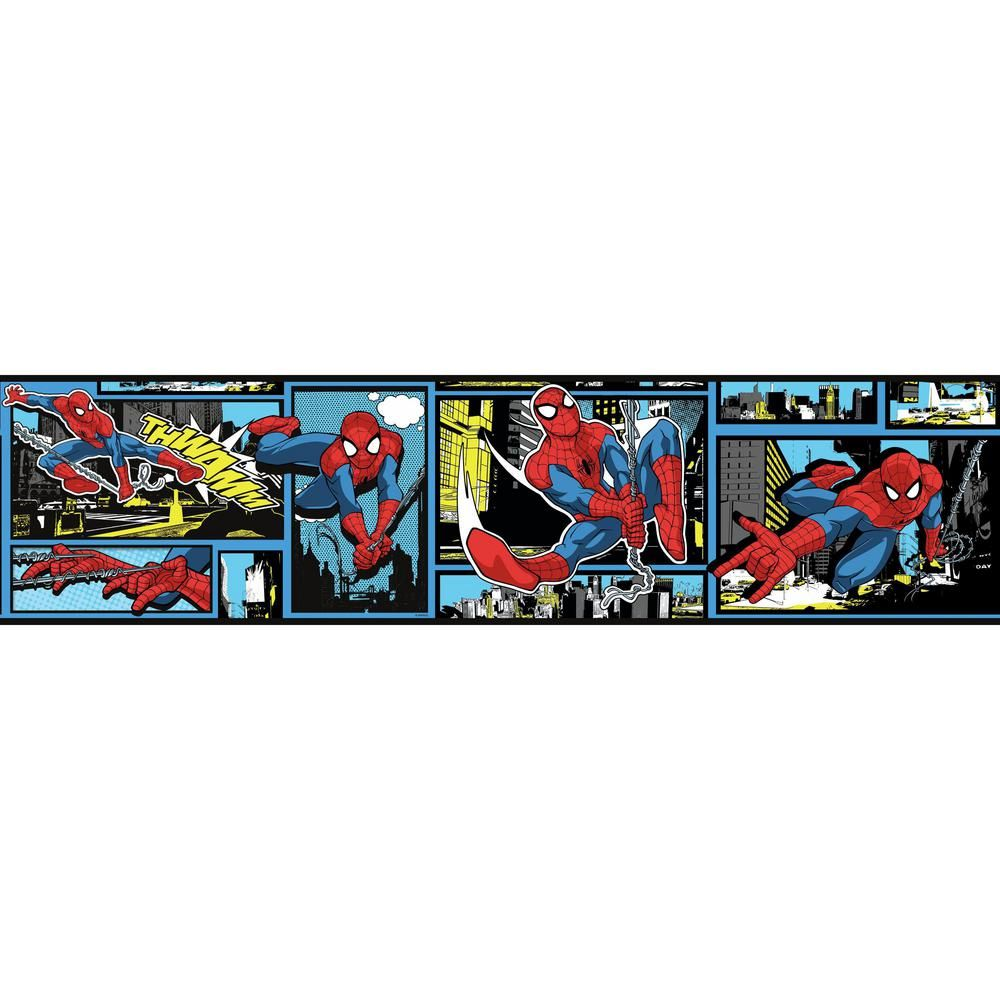York Wallcoverings Disney Kids III Marvel Ultimate