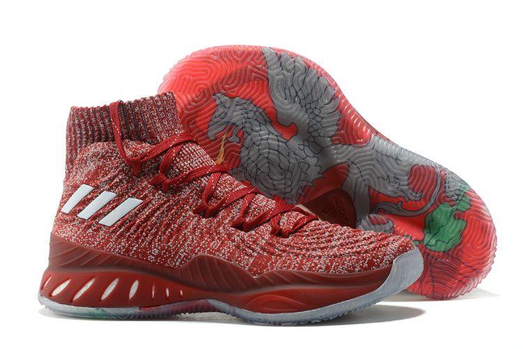 "b0260dc298c adidas Crazy Explosive 2017 Primeknit ""Latvia"" Men s Basketball Shoes"
