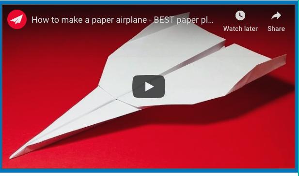 Pin Em AviÃo De Papel Paper Air Plane