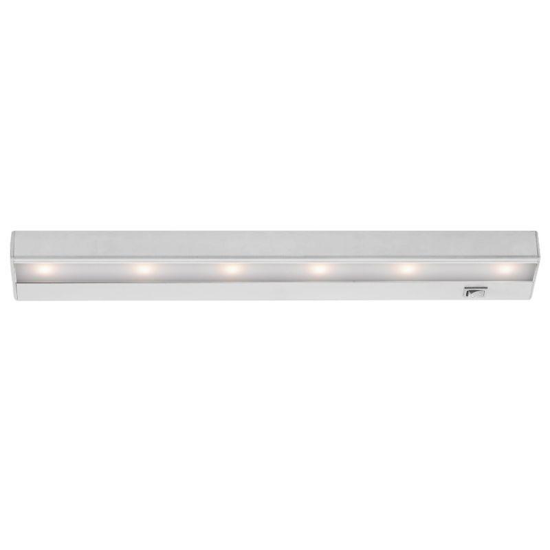 "WAC Lighting BA-LED6 18"" Length 3000K High Output LED Under Cabinet Light Bar White Indoor Lighting Under Cabinet Light Bars"