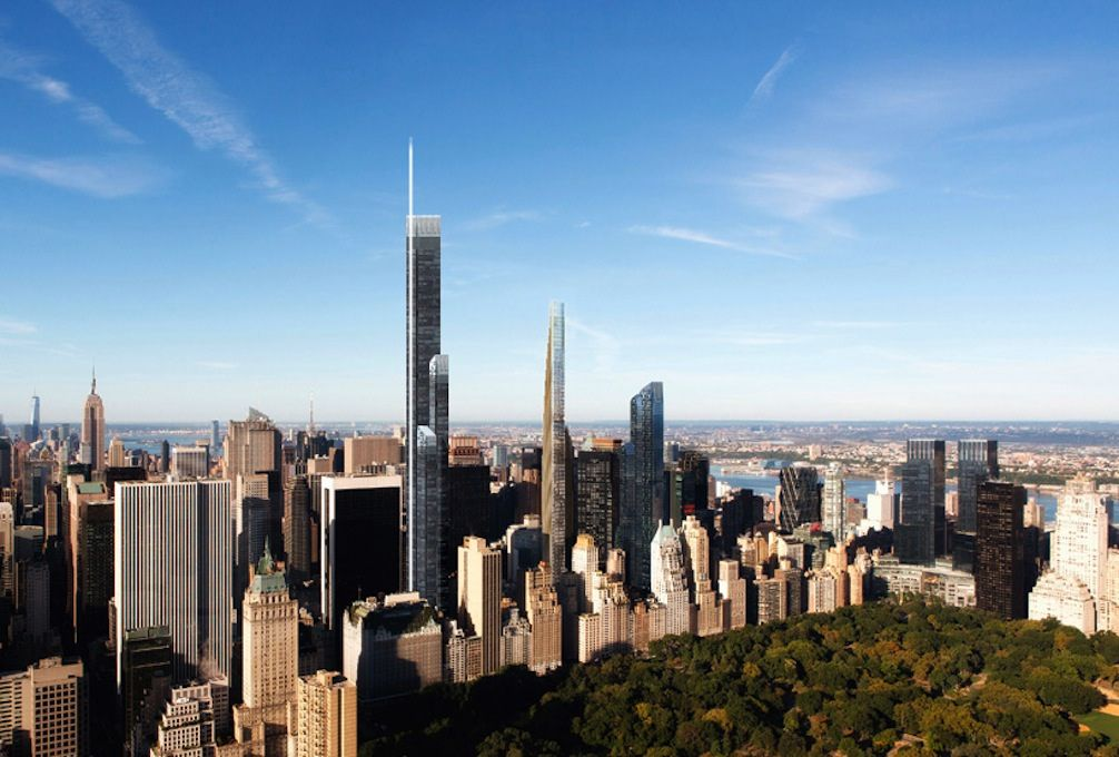 """Possible 2000ft tower at 31 West 57th Street """"Shvo Tower"""""""