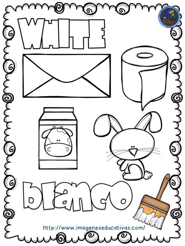 Mi libro de los colores para colorear   Actividades para niños ...