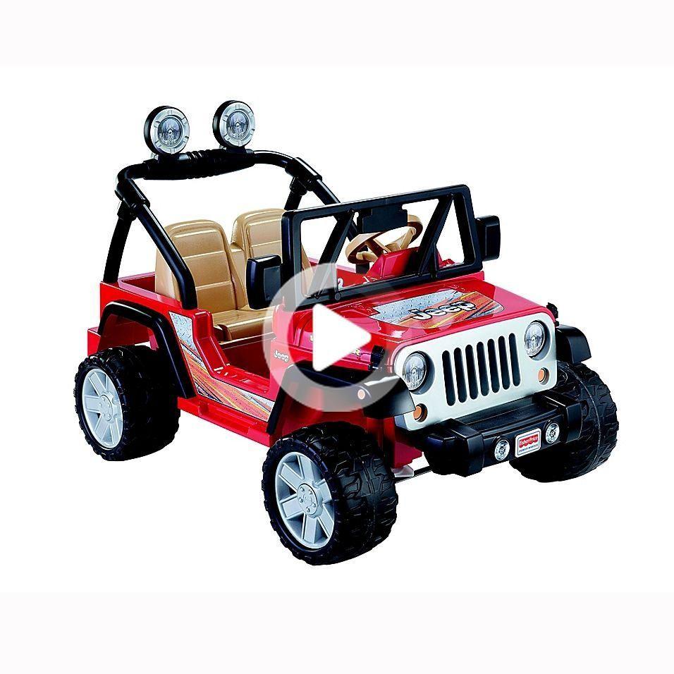 FisherPrice Power Wheels Jeep Wrangler Red Your little