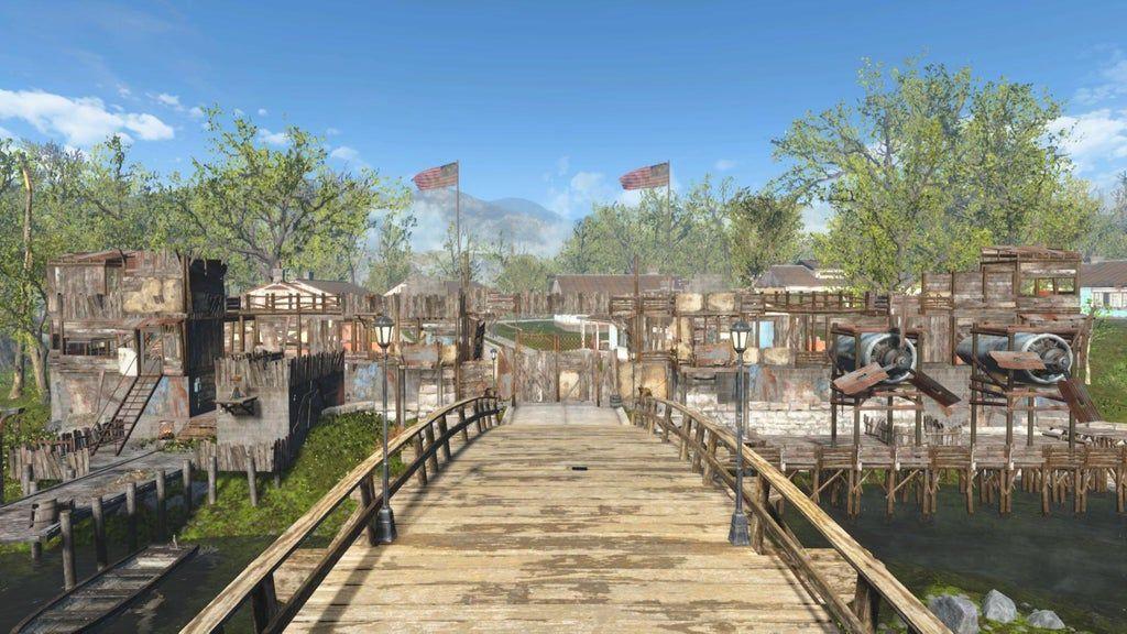 Sanctuary Entrance Falloutsettlements Sanctuary Entrance Fallout Mods