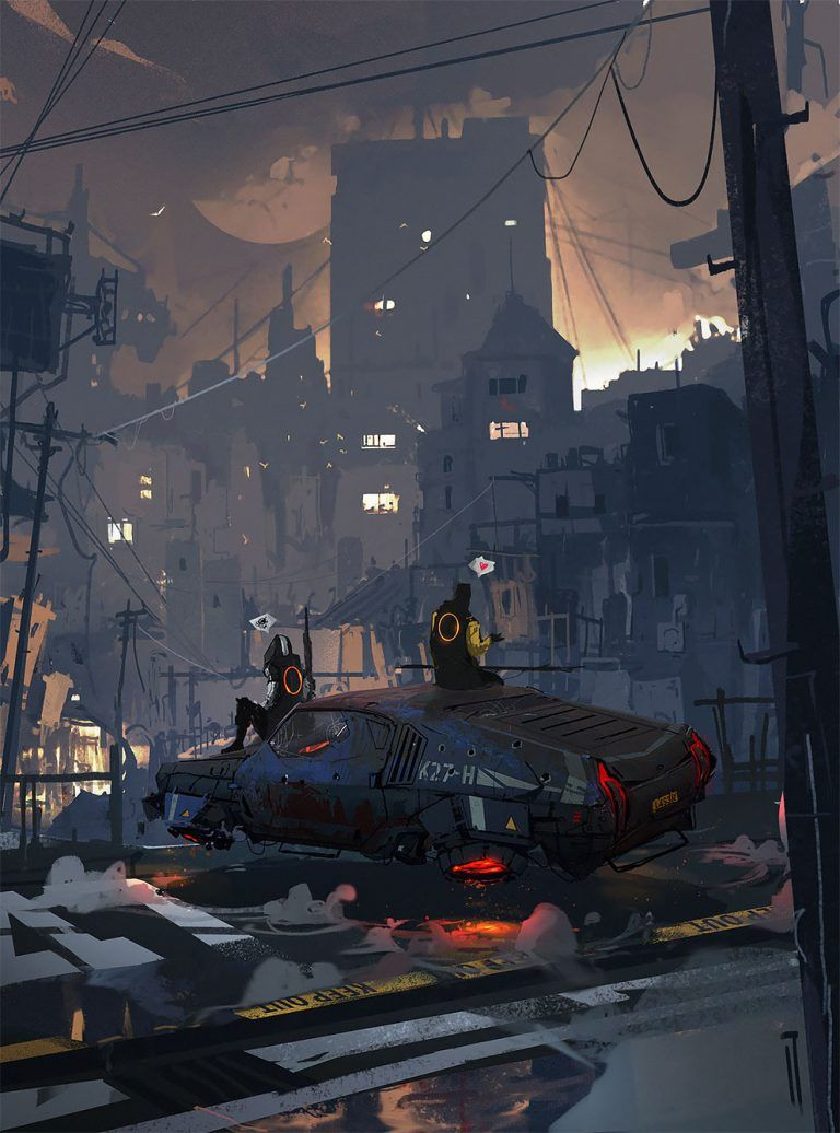 """The Longest Journey"": The Superb Post-Apocalyptic And Sci-Fi Concept Art By Ismail Inceoglu"