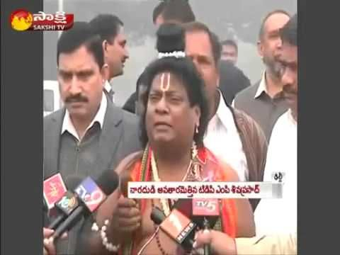 TDP MP Siva Prasad in Narada avatar- FreeGossips