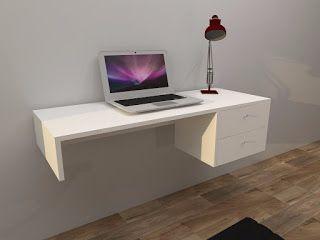 La bodega del mueble escritorio flotante pinteres - Bodega del mueble ...