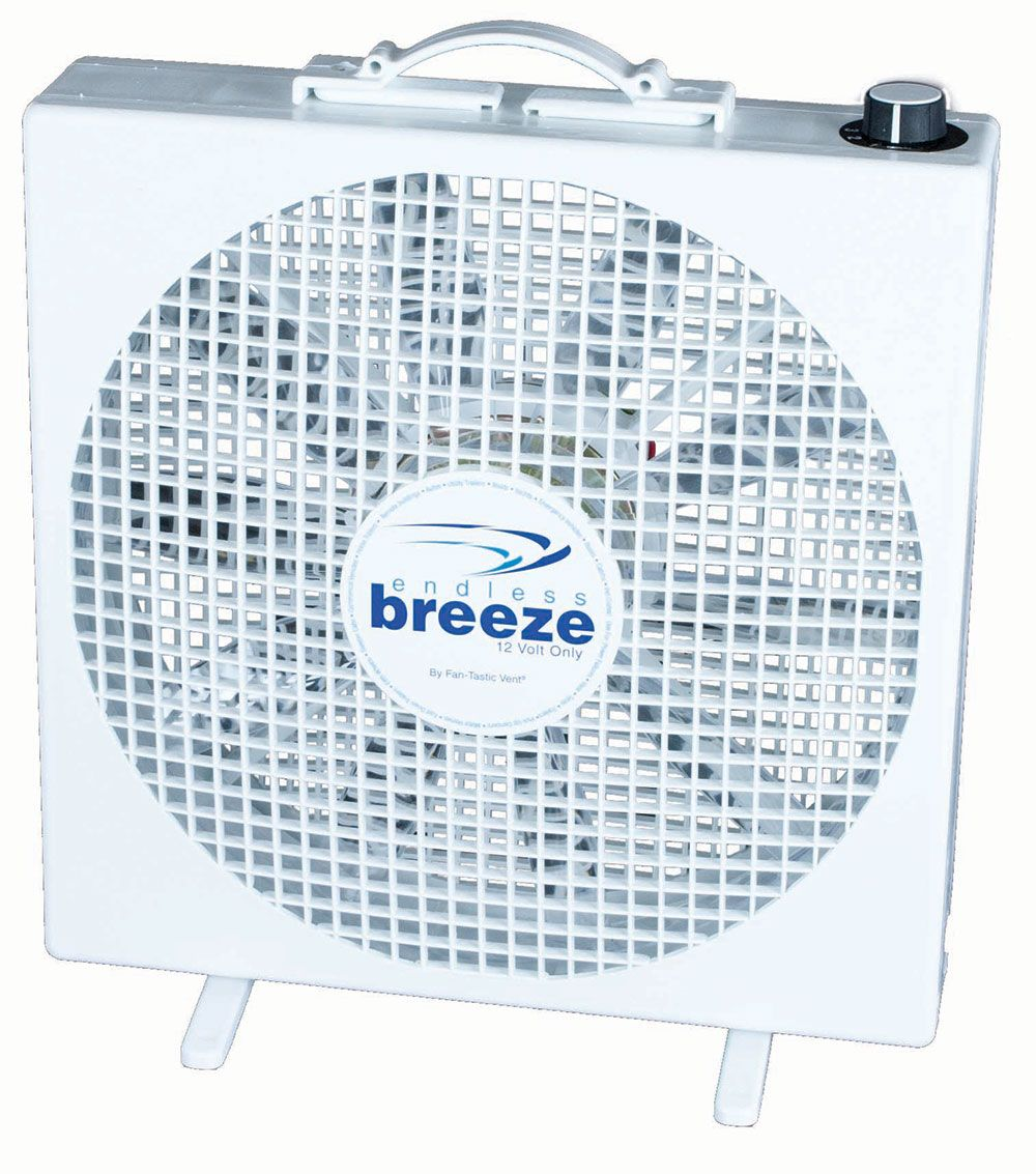 Fan Tastic Endless Breeze 12v Fan Standing Fans Box Fan Camping World