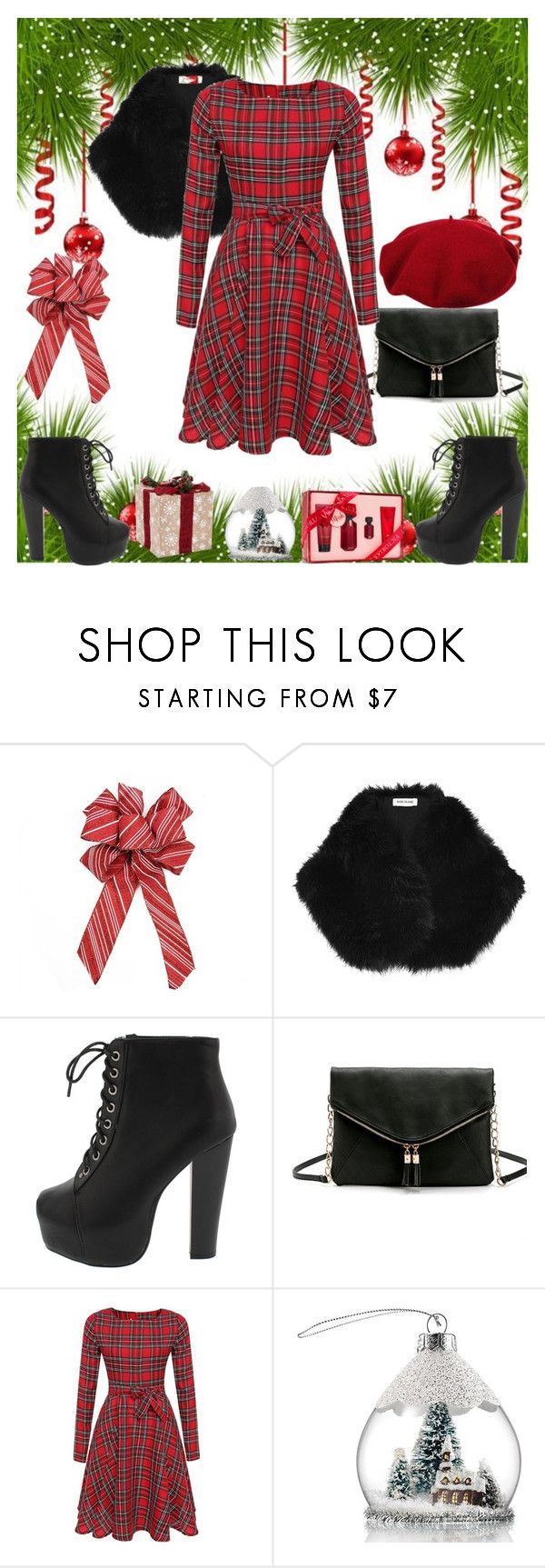 """""""Untitled #1041"""" by misaflowers ❤ liked on Polyvore featuring River Island, Laulhere, Avon and Victoria's Secret"""