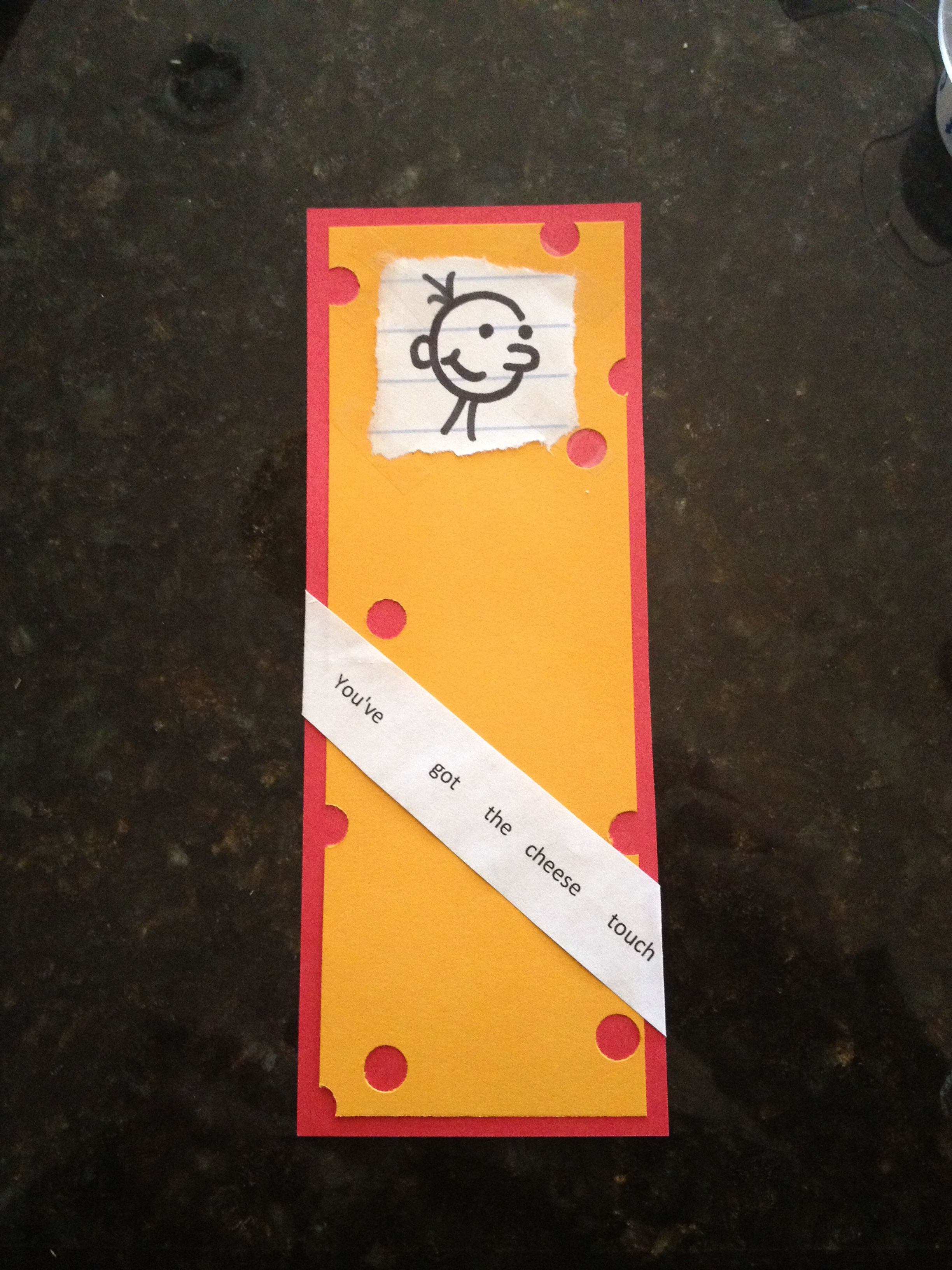 Diary of a Wimpy Kid Bookmark | Birthday Ideas | Pinterest | Wimpy ...