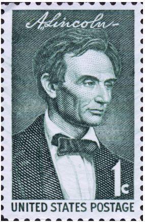 Abraham Lincoln Postage.