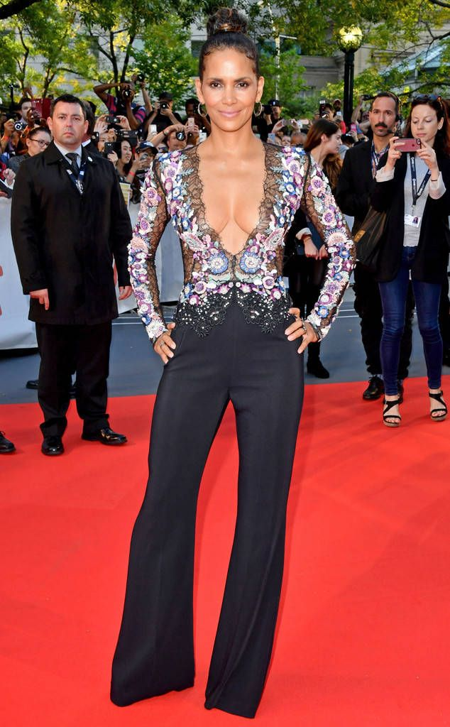 f2712024b08 Halle Berry from The Big Picture  Today s Hot Photos The Oscar-winner looks  as fabulous in a Zuhair Murad jumpsuit at the premiere of her new film  Kings in ...