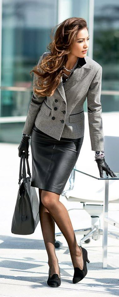 100 Fashionable Work Outfits For Women | Beautiful, Skirts and Suits