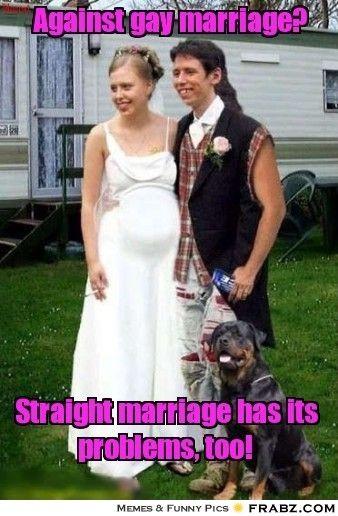 Against Gay Marriage Meme Generator Captionator Wedding