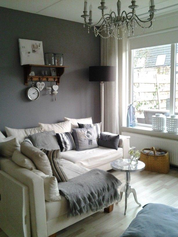 Woonkamer landelijke stijl interieur pinterest huis for Inrichting kleine woonkamer