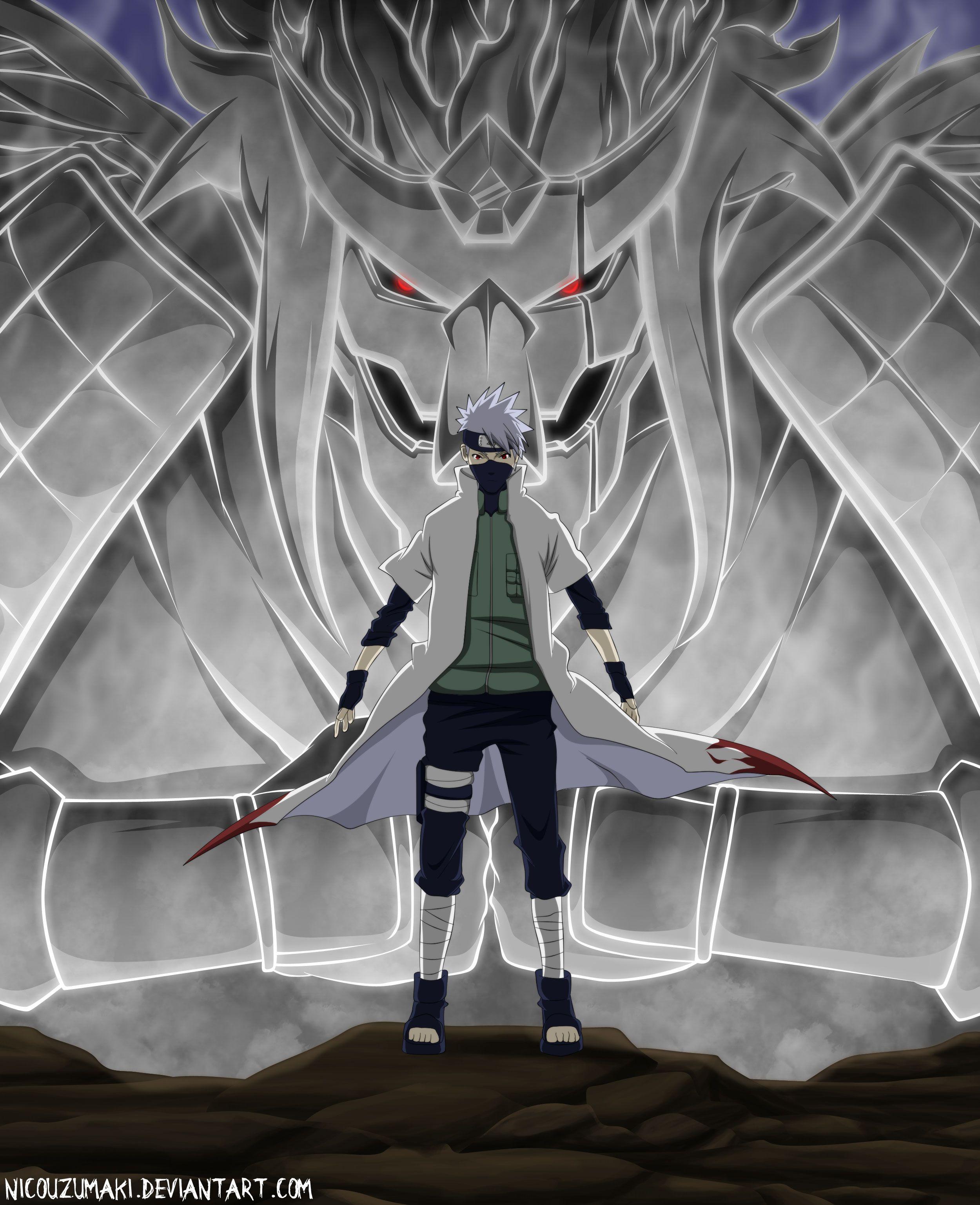 Kakashi Susanoo Naruto Shippuden Anime Kakashi Kakashi Hokage