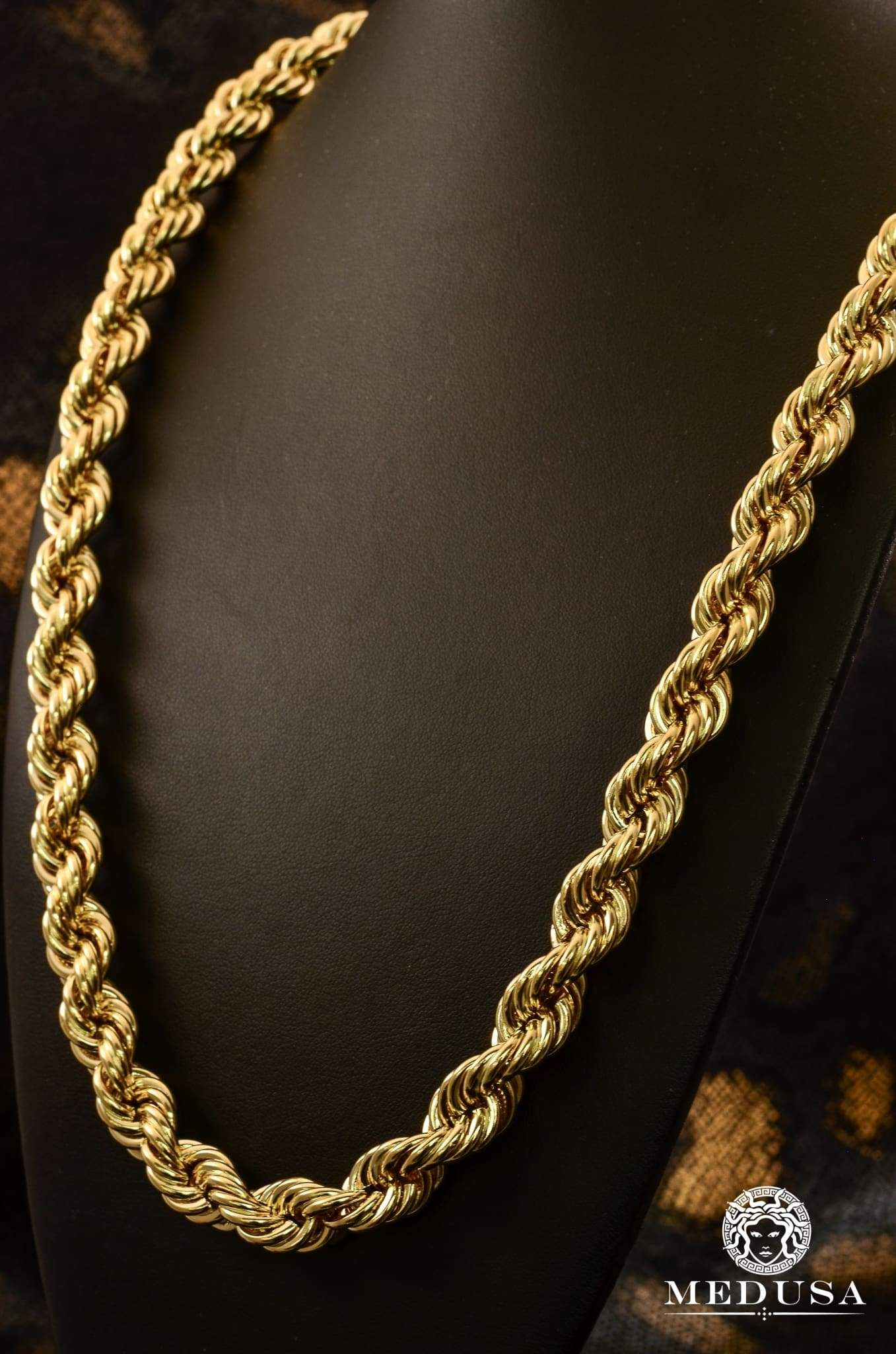 12mm Torsade Gold Chains For Men Mens Gold Jewelry Mens Gold Bracelets