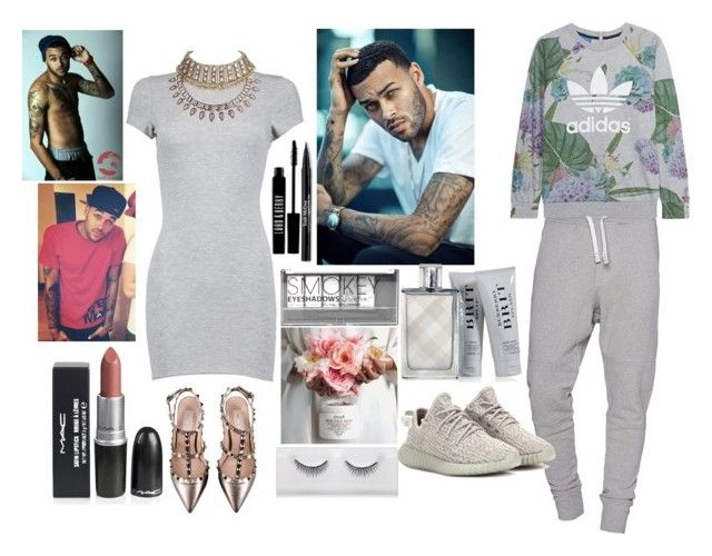 """""""Date Night With DON BENJAMIN!!!!!!!!"""" by sukh-deol on Polyvore featuring Boohoo, Valentino, IRO, adidas Originals, Burberry, Trish McEvoy, Lord & Berry, DateNight, DreamGuy and LoveDon"""