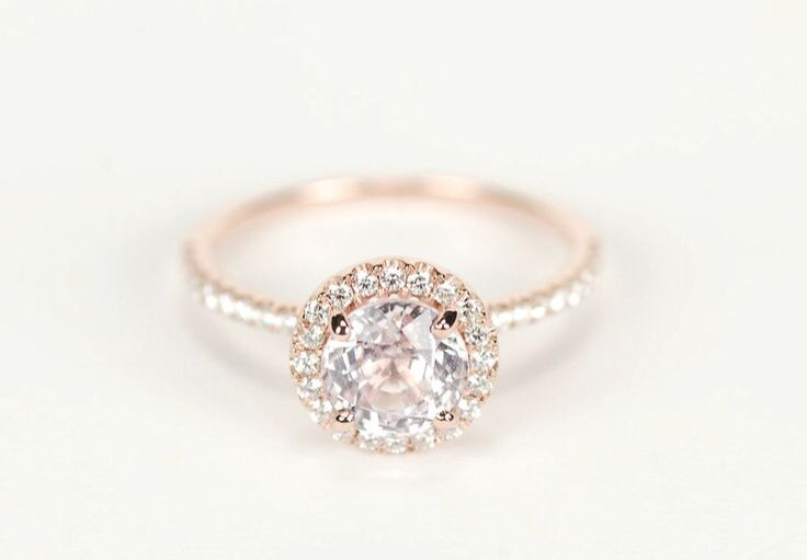 gold halo engagement ring maybe a plain