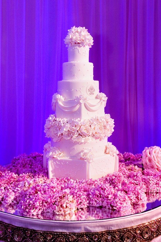 Elegant and Tall Wedding Cakes | Sweet On Cake | San Francisco ...