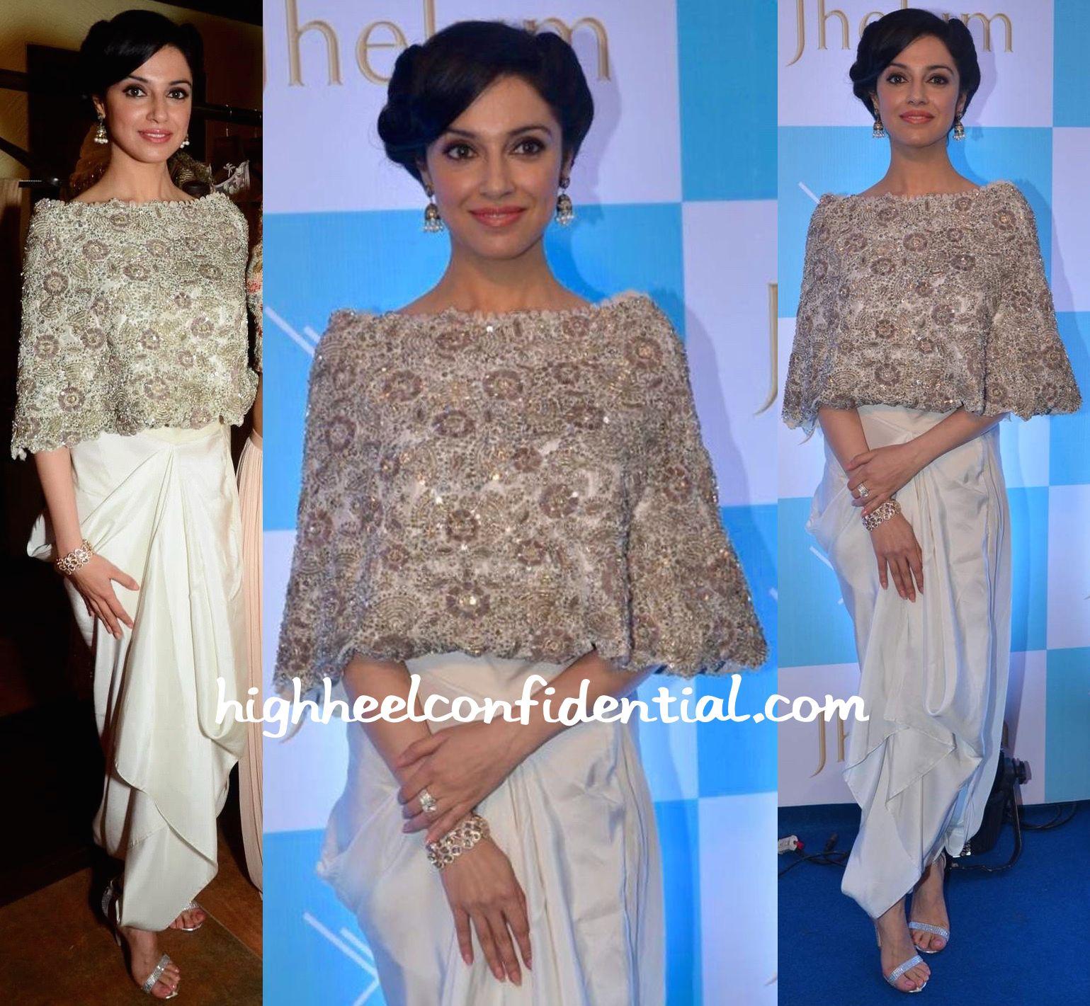 Divya khosla kumar in anamika khanna at jhelum store launch
