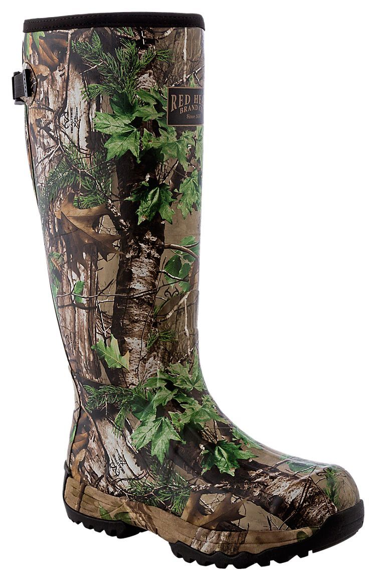 3ba3fa995f2a8 RedHead Guide Camo Rubber Boots for Men | Bass Pro Shops | Stuff to ...
