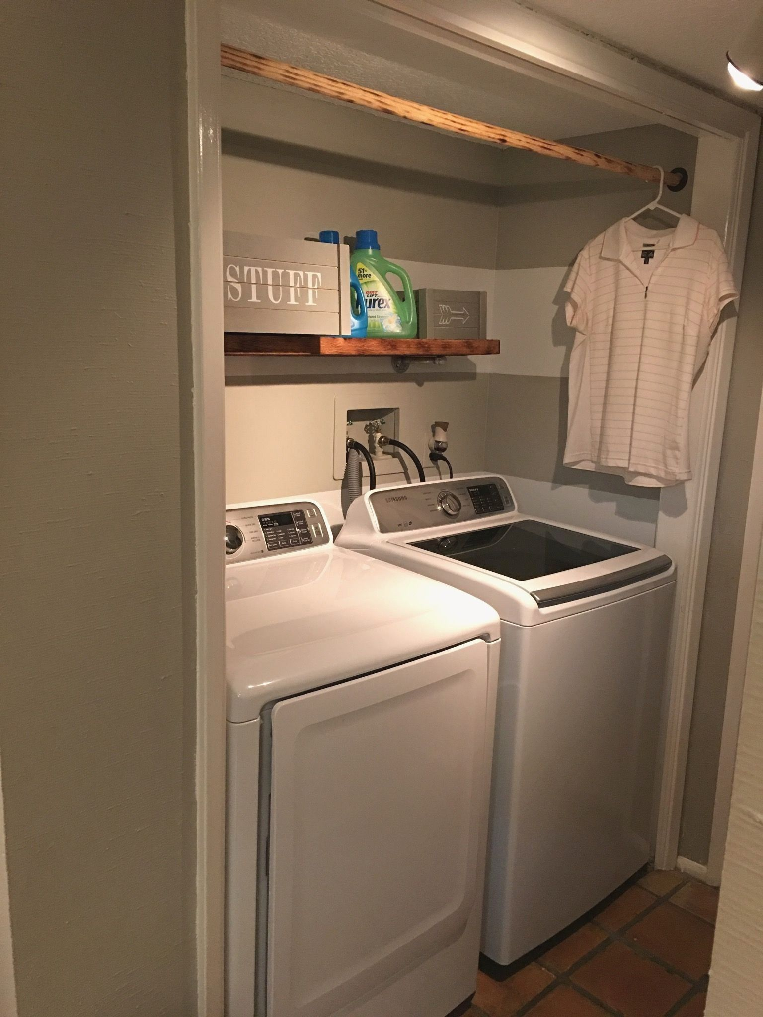 27 Best Laundry Room Shelf Ideas With