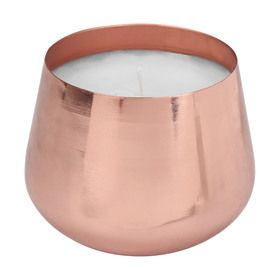Rose Gold Look Fragrant Candle In 2020 Fragrant Candles Rose Gold Candle Touch Lamp