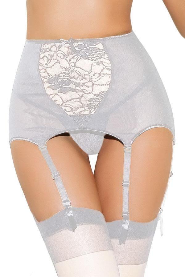 a827a998780 Crossdresser Sissy Plus Size High-waisted Lace Hollow-out Garter Belt Size  5X  DearLover1183