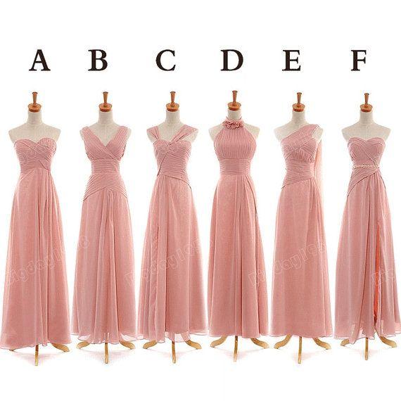 Long Bridesmaid dress Strapless bridesmaid dress / by Bigday1958, $99.00