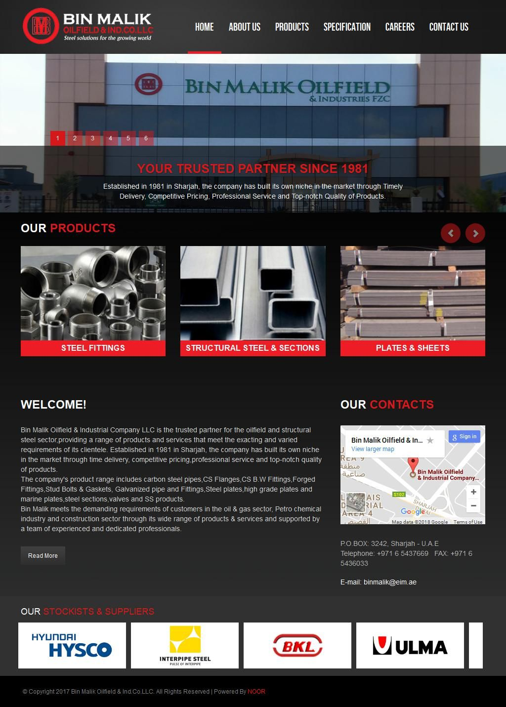 Bin Malik Oilfield & Industries Co  Ltd Building Materials