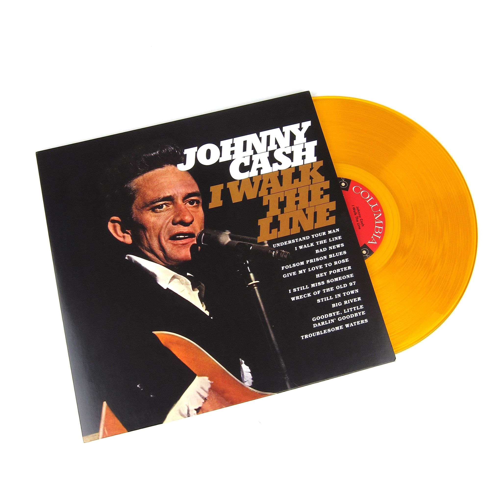 Johnny Cash I Walk The Line 180g Colored Vinyl Vinyl Lp Johnny Cash Vinyl Johnny Cash Vinyl