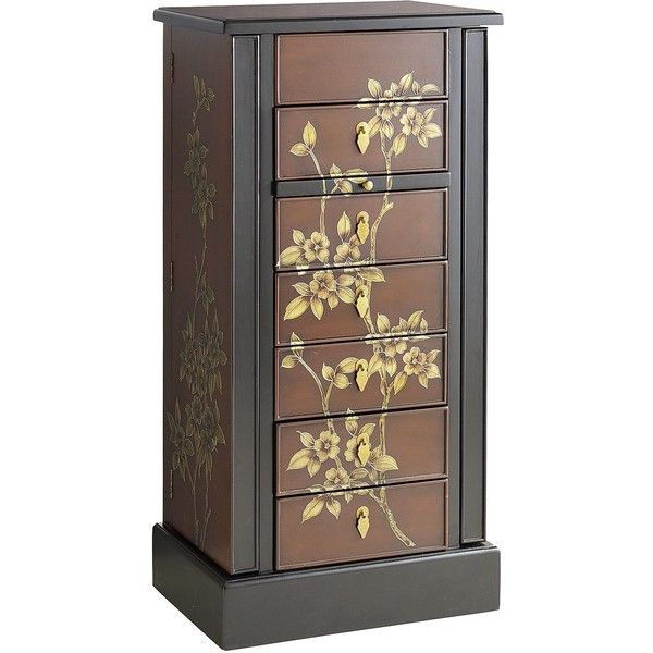 Pier One Morikami Jewelry Armoire 280 Liked On Polyvore